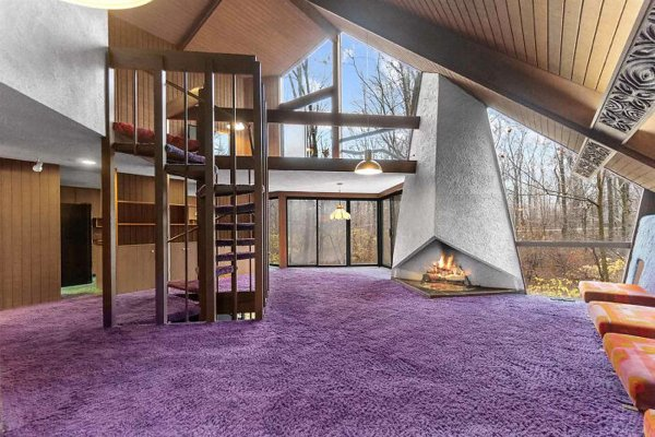 70's Style House For A New Family (28 pics)