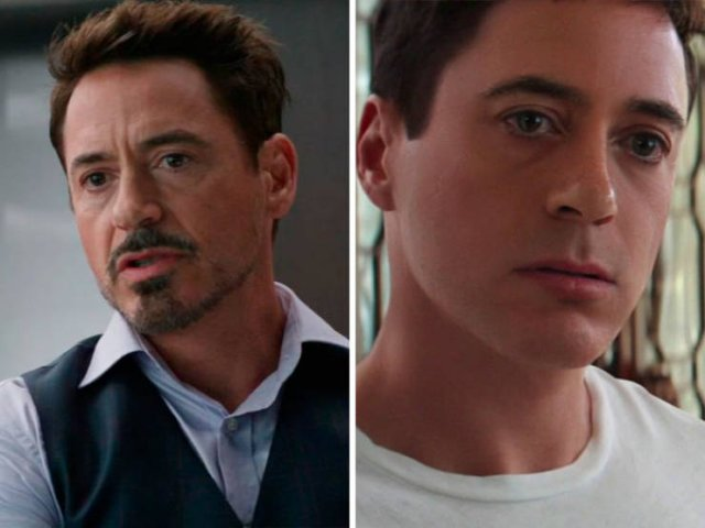 Great Examples Of Digital Rejuvenation Of Actors For Their Roles (21 pics)
