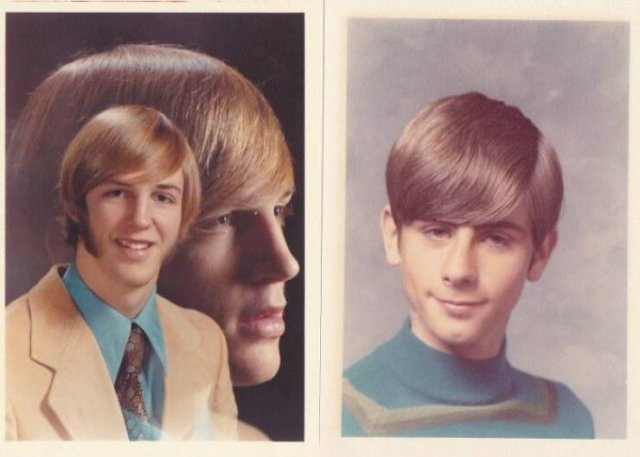 Weird Men's Hairstyles Of Past Years (26 pics)