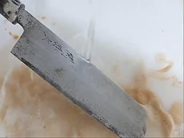 Restoring Traditional Japanese Knife