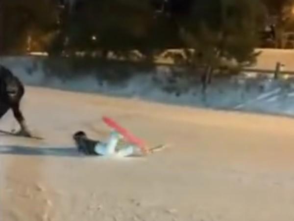 Skiing Like A Boss