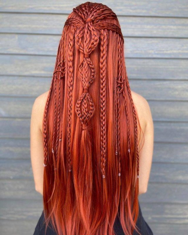 Incredible Braided Hairstyles (34 pics)
