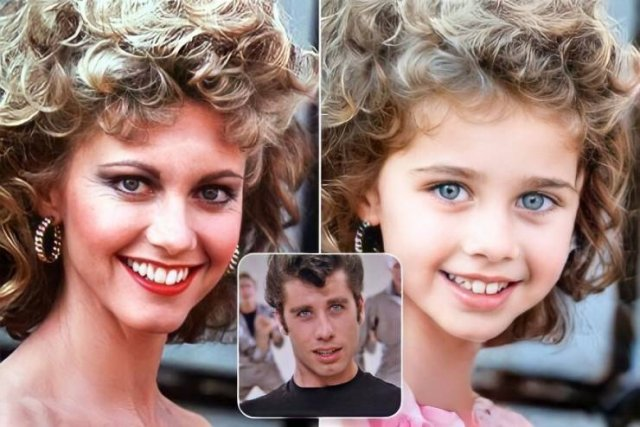 What The Children Of Famous Movie Couples Would Have Looked Like (24 pics)