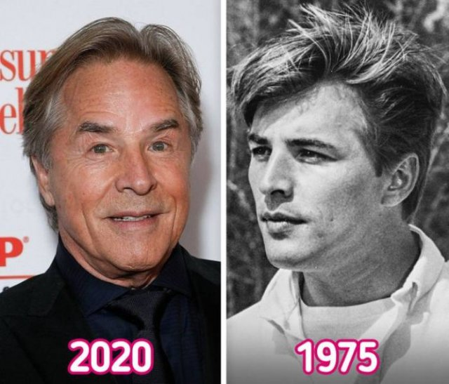 Celebrities: In Their 20s And Now (20 pics)
