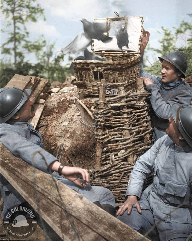Historical Photos In Color (15 pics)