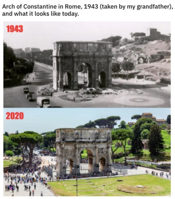 World Changes Throughout History (26 pics)