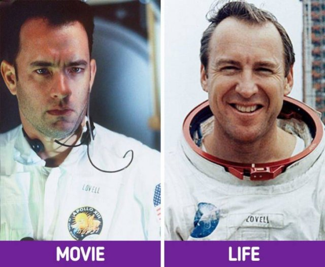 Famous Movie Characters And Their Real-Life Prototypes (15 pics)