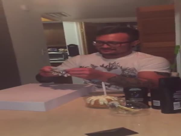 Daughter Surprises Her Step Dad With Adoption Papers On His Birthday