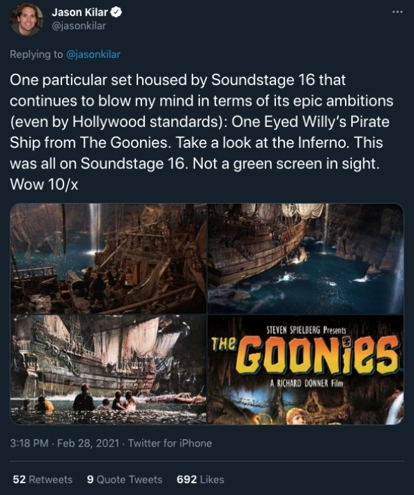 'Soundstage 16' Facts (15 pics)