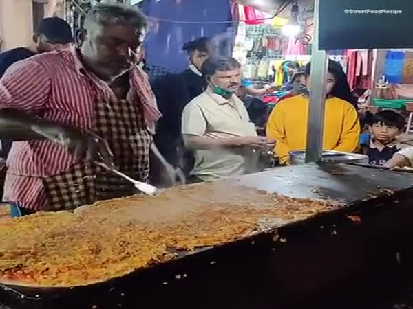Super Skilled Street Food Cook