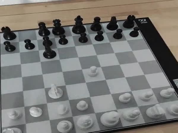 This Chess Board Playing With You