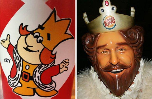 Famous Brand Mascots Evolution (22 pics)