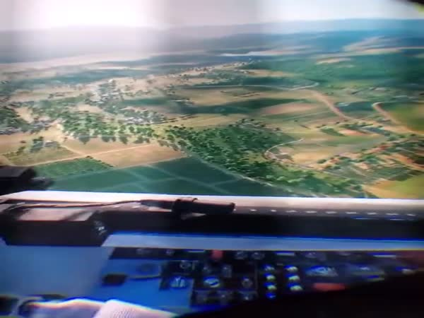 This VR Flight Sim Setup