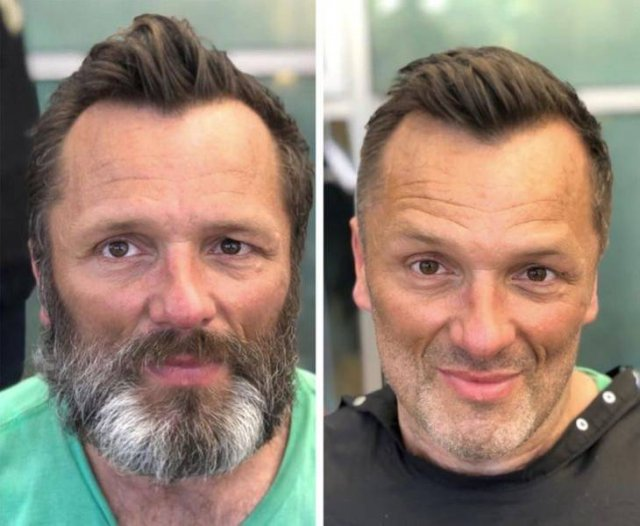 Stylist Helps Homeless People By Giving Them New Haircuts (22 pics)