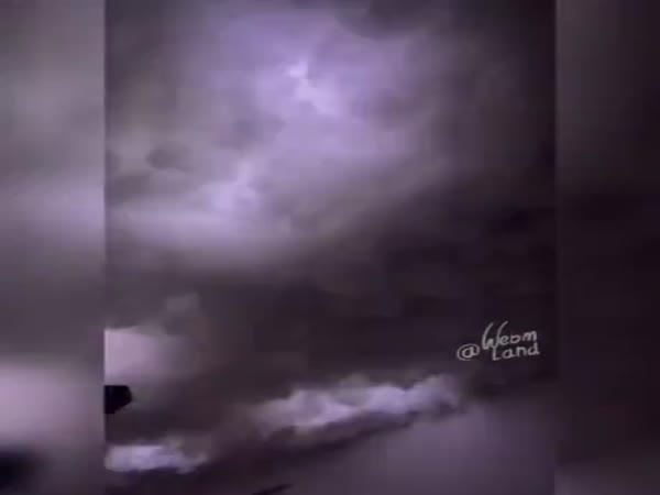 Bedroom Storm Clouds