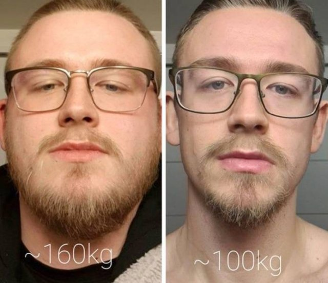 People Show Off Their Transformations (33 pics)