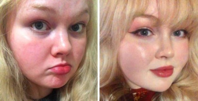 The Power Of Makeup (20 pics)