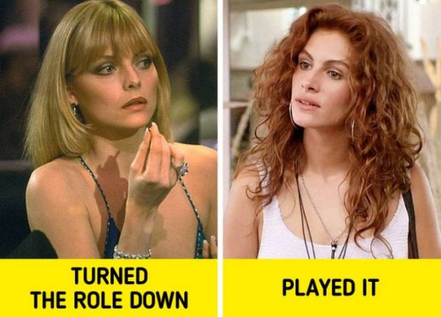 Celebrities Who Were Offered Great Roles But Then Missed Them (14 pics)