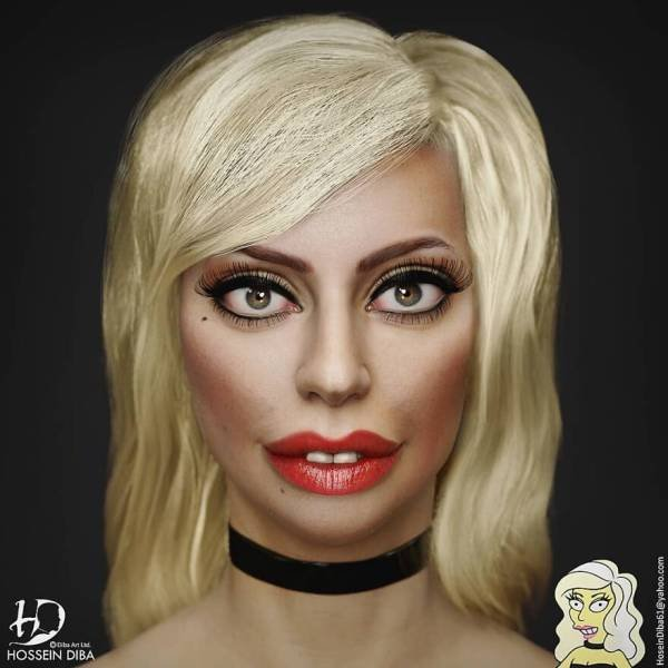 Pop Culture Characters Were Turned Into Real Life People (25 pics)