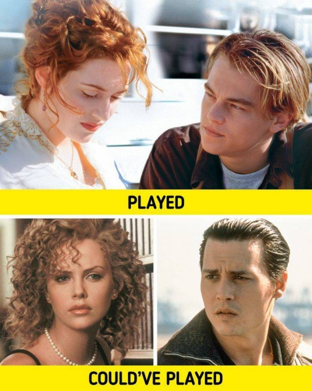 Actors Who Could Have Played These Famous Movie Couples (12 pics)
