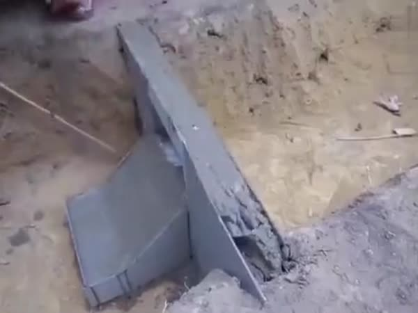 This Dude Making A Dam