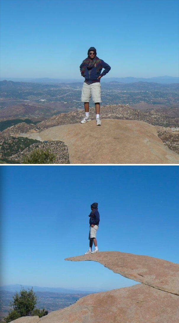 Optical Illusions Turn People Into Giants (38 pics)