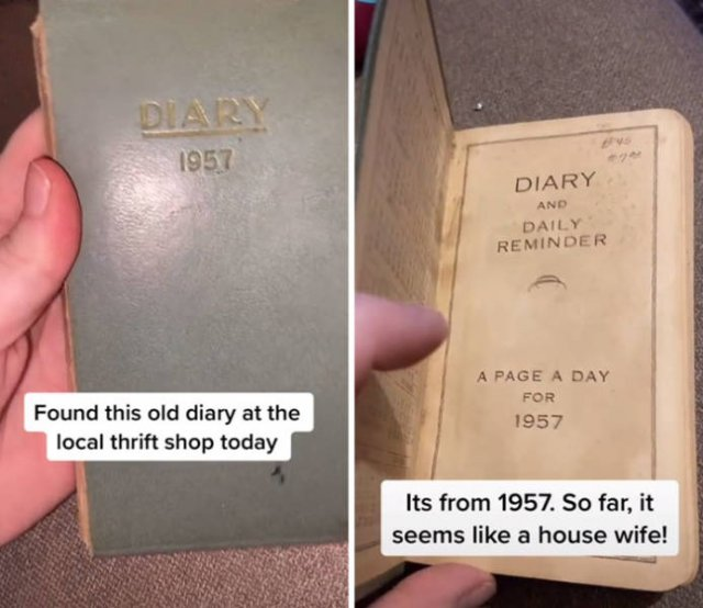 Thrift Shop Find: 1957 Housewife Diary (11 pics)