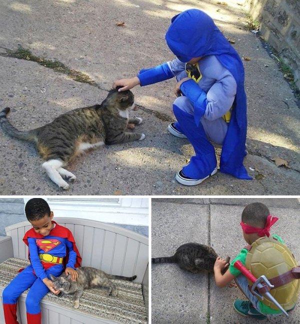 Kids With Kind Hearts (29 pics)