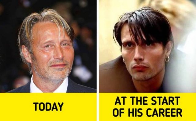 Male Celebrities: At The Begging Of Their Careers (19 pics)