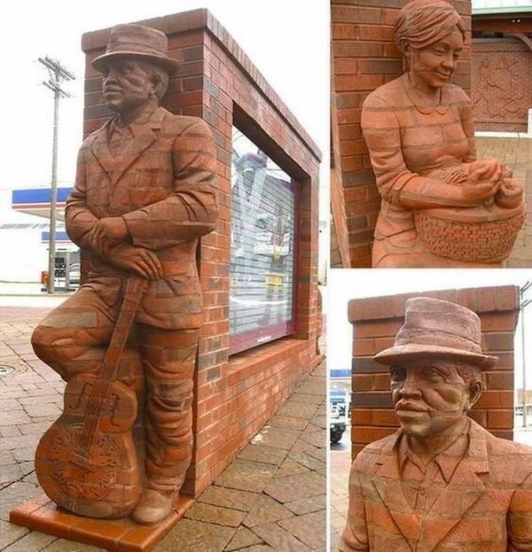 Brick Art (25 pics)