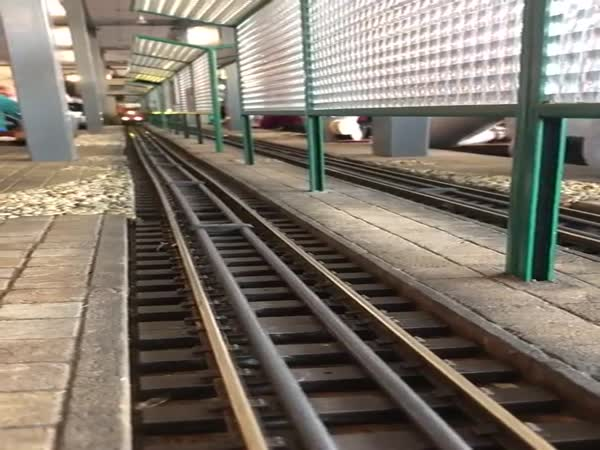Taking The Train To Work