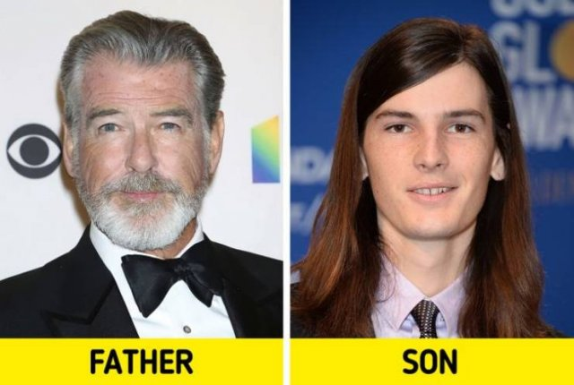 Celebrity Children Who Look So Different With Their Parents (17 pics)