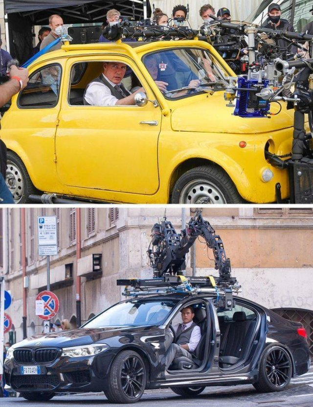 Behind The Scenes Of Popular Movies (24 pics)