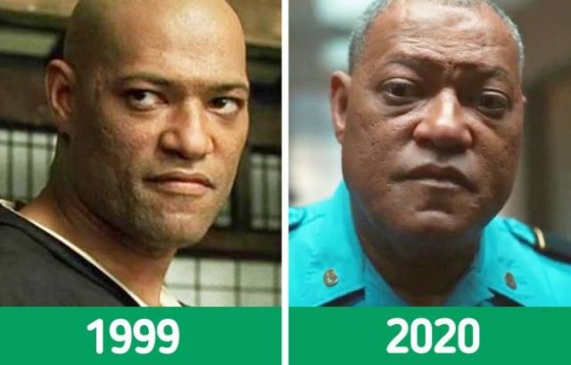 """""""The Matrix"""" Cast: Then And Now (12 pics)"""
