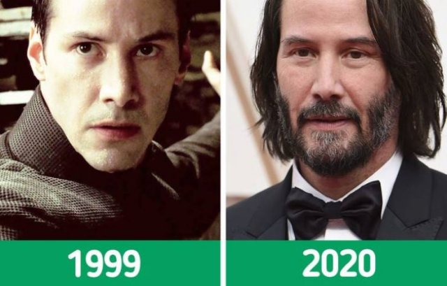 """The Matrix"" Cast: Then And Now (12 pics)"
