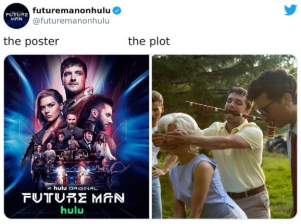 Movie Posters Compared To Their Plots (27 pics)