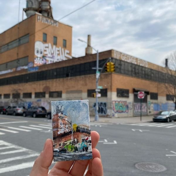 NY Artist Hid Miniature Paintings In Easter Eggs (9 pics)