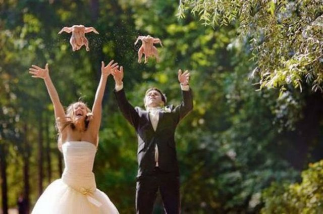 Awkward Wedding Photos (48 pics)