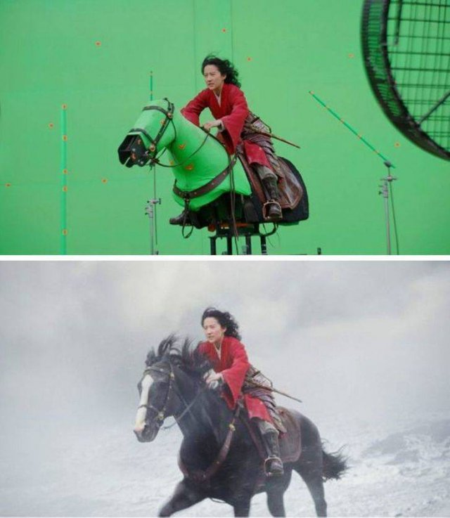 Behind The Scenes Of Popular Movies (14 pics)