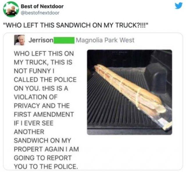 'Nextdoor' Neighbors Messages (24 pics)