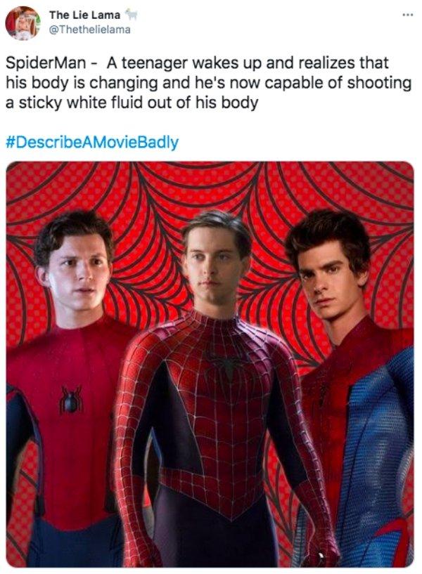Describe A Movie Badly (25 pics)