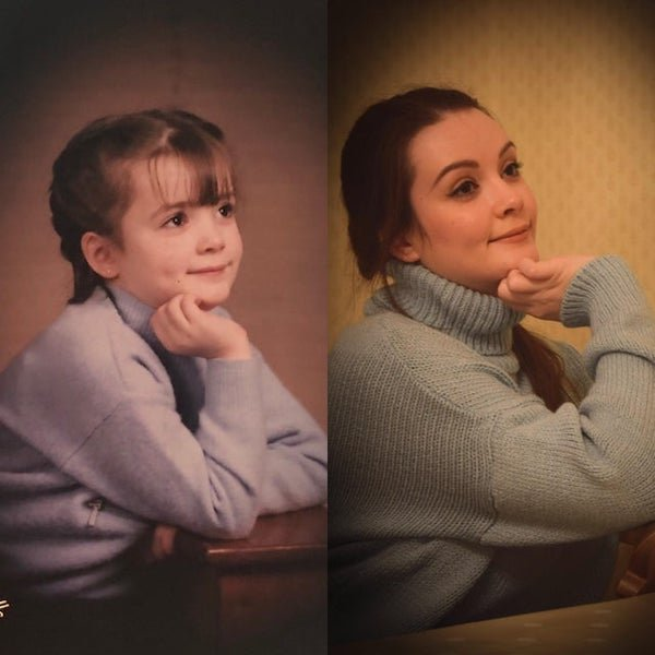 People Recreate Their Old Family Photos (23 pics)