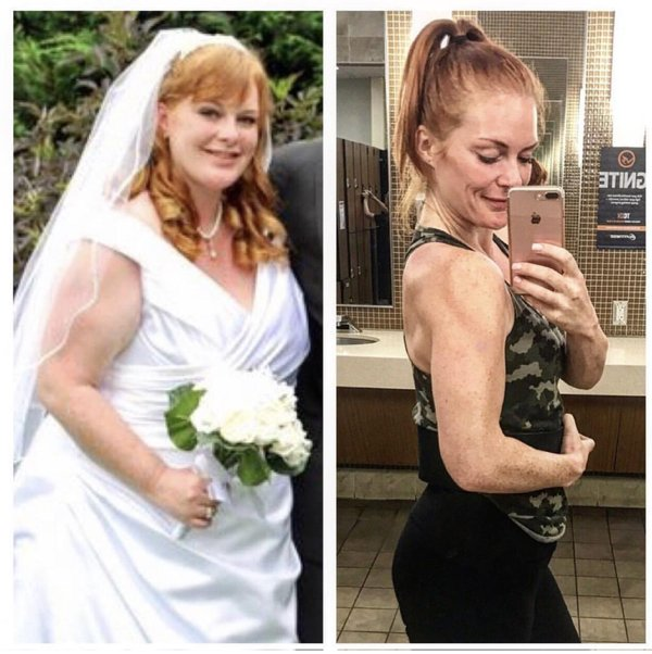 People Show Their Life Transformations (18 pics)