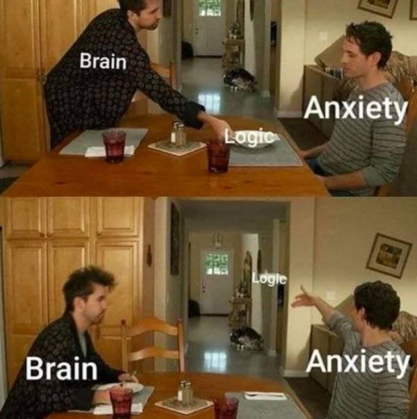 Anxiety Memes And Tweets (28 pics)