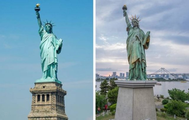 Touristic Popular Sights And Their Twins In Other Countries (20 pics)