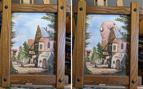 Thrift Shop Paintings (24 pics)
