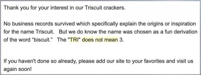 Man Explained The Meaning Of 'Triscuit' (28 pics)