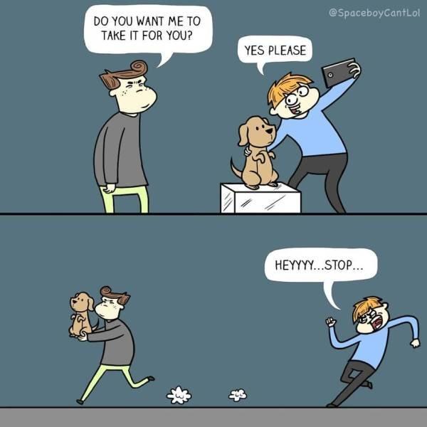 Dark Humor Comics (47 pics)