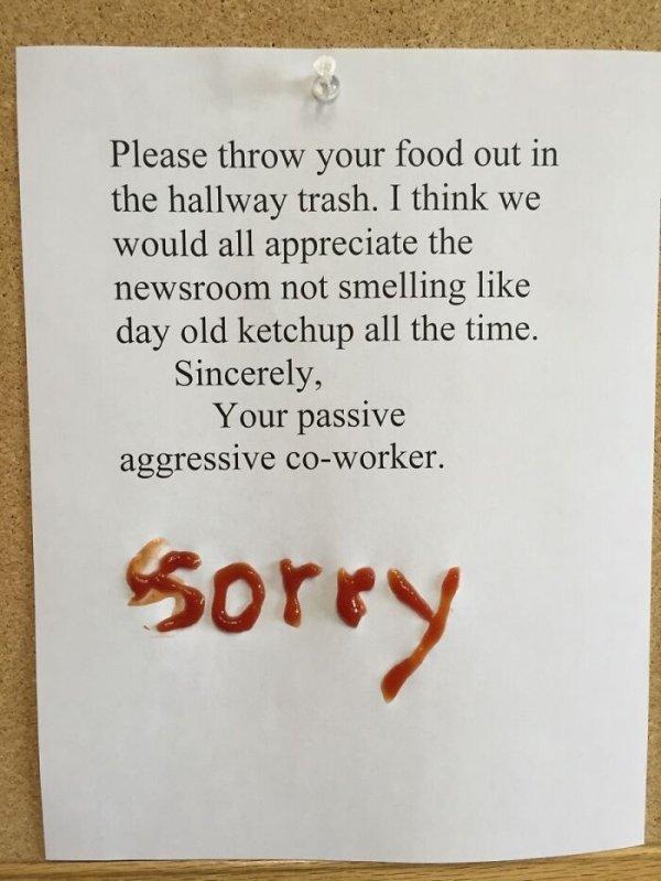 Passive Aggressive Signs (26 pics)