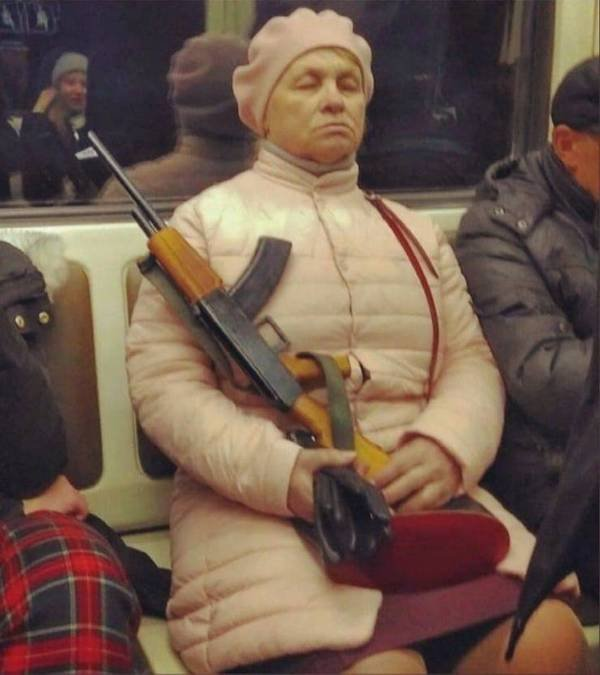 Weird Subway Passengers (35 pics)